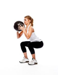 medicine ball squat thrust [pinterest]