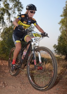 Kirsty Fernbrool - 10th lady, 80km MTB