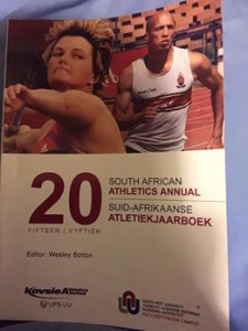 SA athletics journal 2014