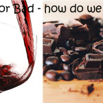 avo, coffee, r wine  & chocolate